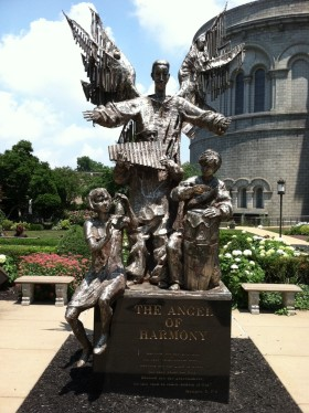 The Angel of Harmony Sculpture