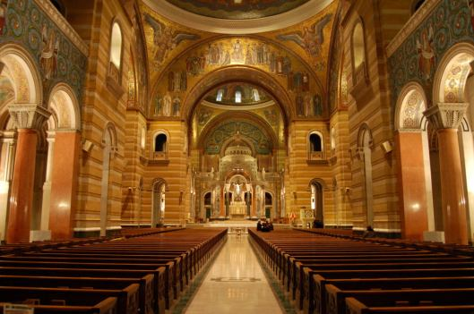 Cathedral Basilica at St. Louis (Image from wikipedia)
