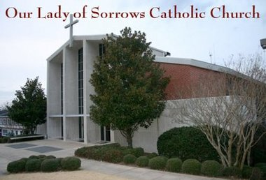 Our Lady of Sorrows Catholic Church, Homewood, AL  - Photo courtesy of Google Images