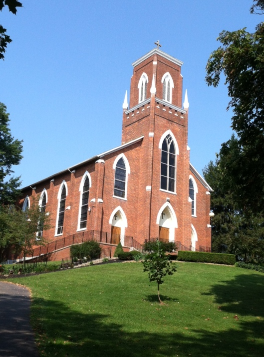 St. Joseph's Church near Somerset, OH