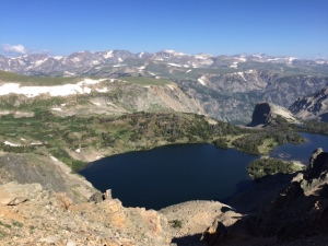Above treeline on Beartooth Pass, Montana