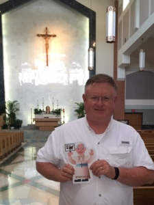 #Flat Francis at Prince of Peace, Olathe, KS