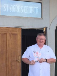 #Flat Francis at St. Agnes, Red Lodge, MT