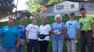 Ms. Bertha's work team