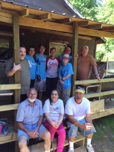 Ms. Doris' work team