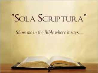 sola scripturaIII